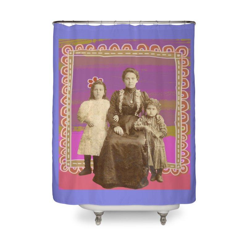 Grandma Home Shower Curtain by tiikae's Shop