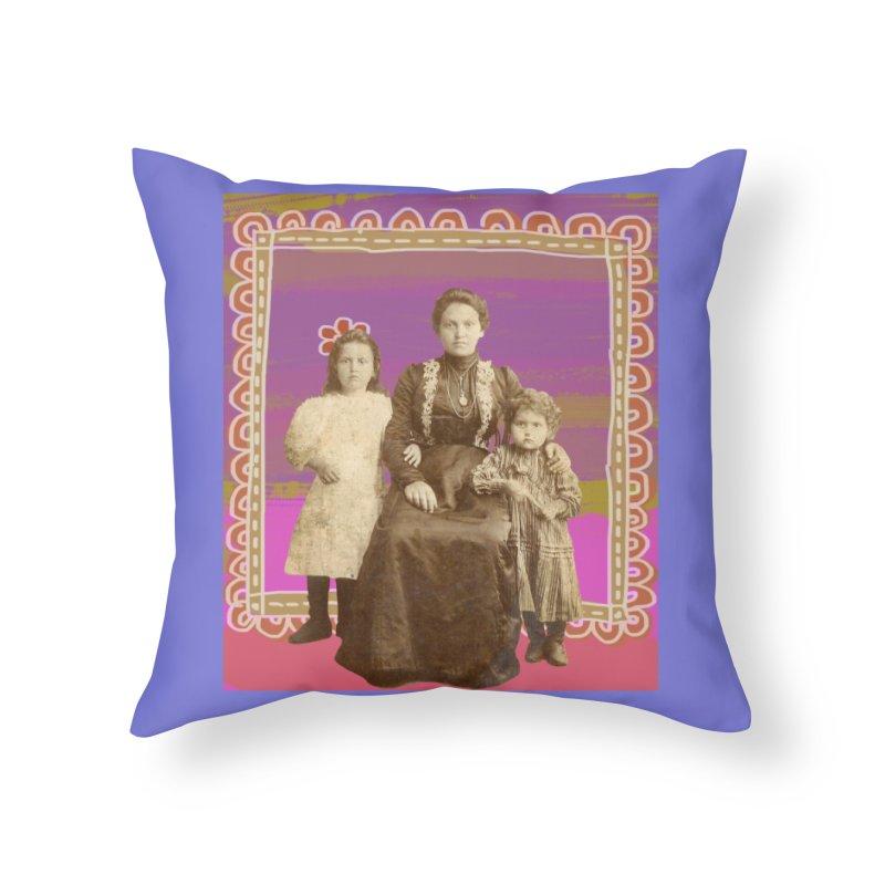 Grandma Home Throw Pillow by tiikae's Shop