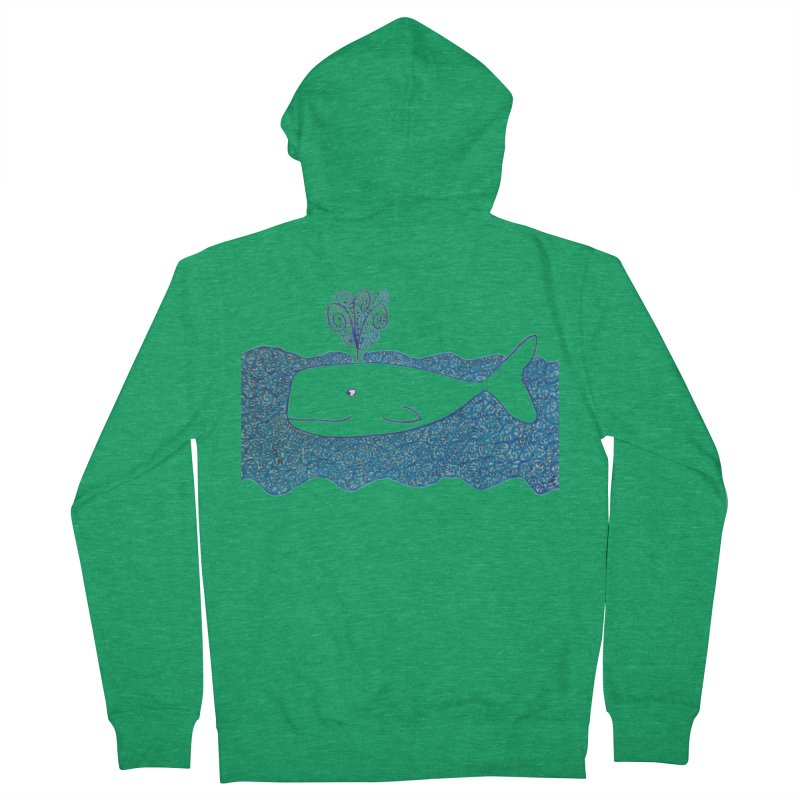 Whale, Whale, Whale... Men's Zip-Up Hoody by tiikae's Shop