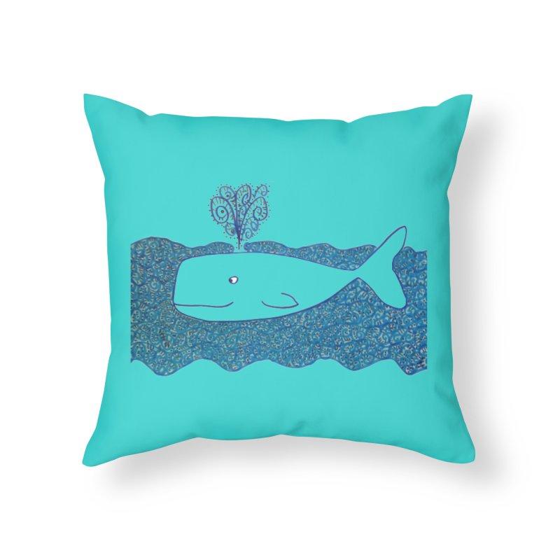 Whale, Whale, Whale... Home Throw Pillow by tiikae's Shop