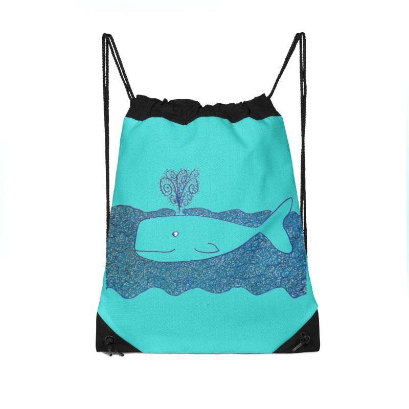 Whale, Whale, Whale... Accessories Bag by tiikae's Shop