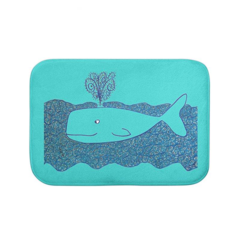 Whale, Whale, Whale... Home Bath Mat by tiikae's Shop