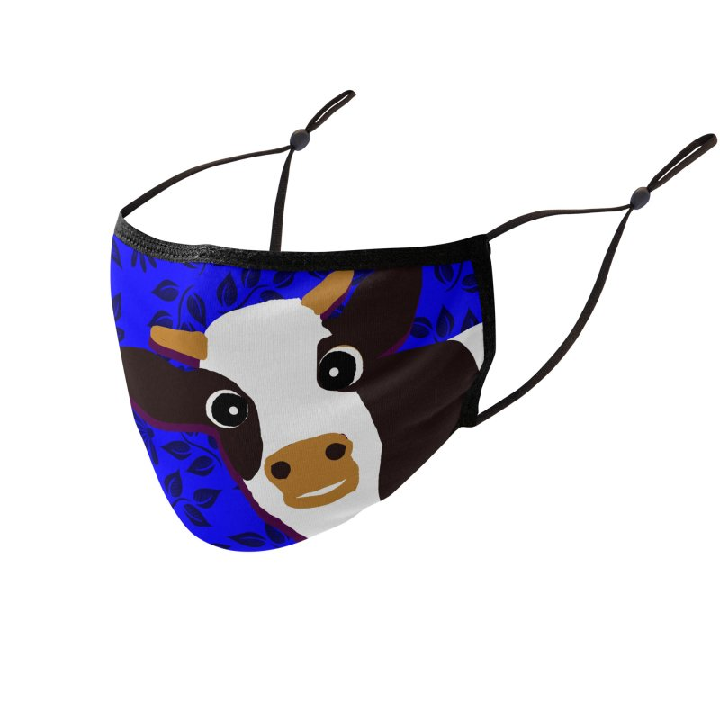 Cow facemask Accessories Face Mask by tiikae's Shop