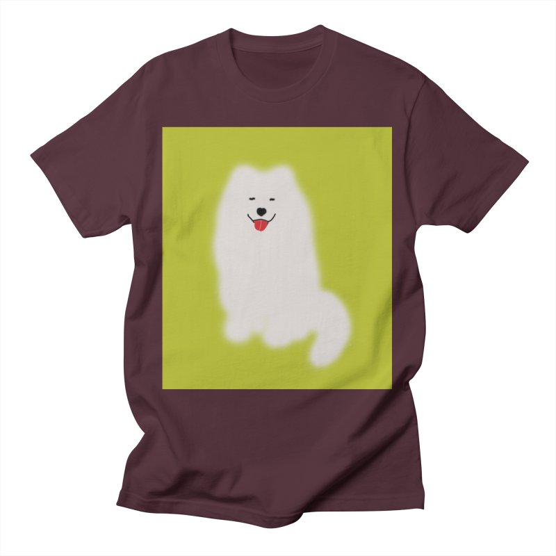 Fluffy Samoyed Cloud Men's T-Shirt by tiikae's Shop