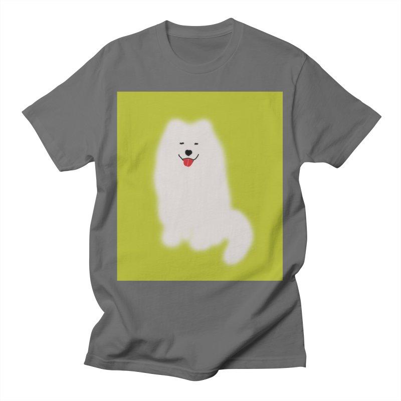 Fluffy Samoyed Cloud Women's T-Shirt by tiikae's Shop