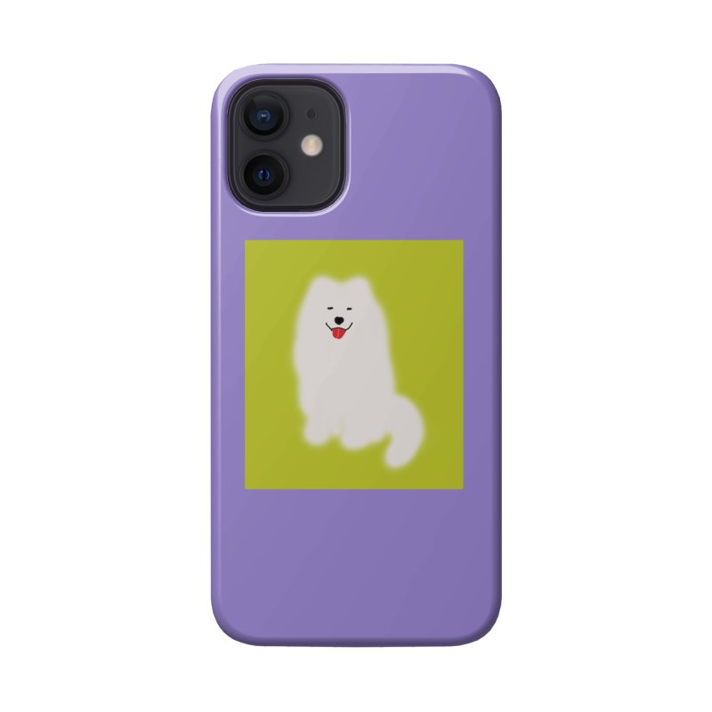 Fluffy Samoyed Cloud Accessories Phone Case by tiikae's Shop