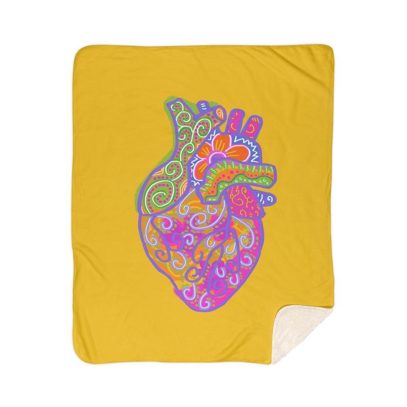 Anatomically incorrect heart Home Blanket by tiikae's Shop