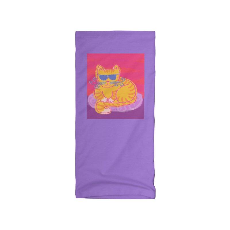 Tough cat loaf Accessories Neck Gaiter by tiikae's Shop