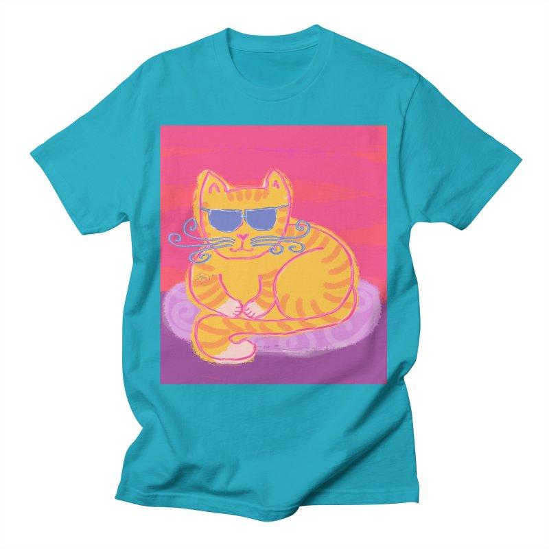 Tough cat loaf Men's T-Shirt by tiikae's Shop