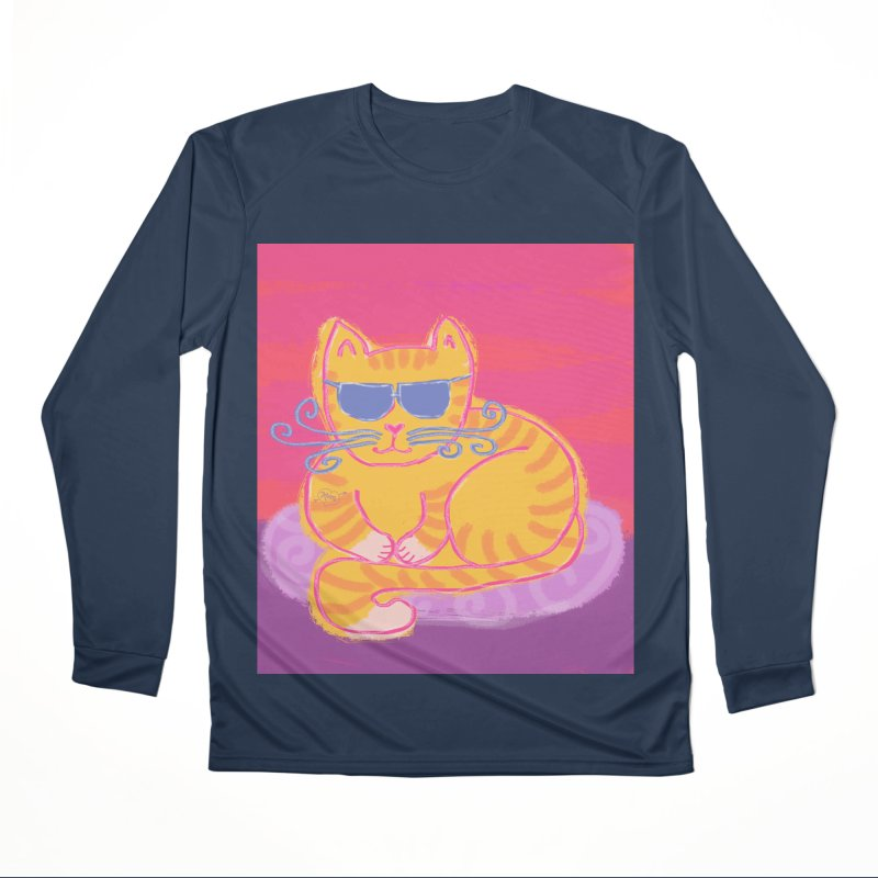 Tough cat loaf Women's Longsleeve T-Shirt by tiikae's Shop