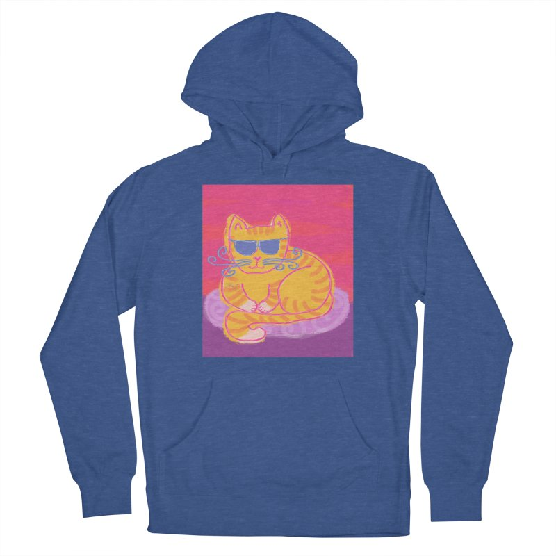 Tough cat loaf Women's Pullover Hoody by tiikae's Shop