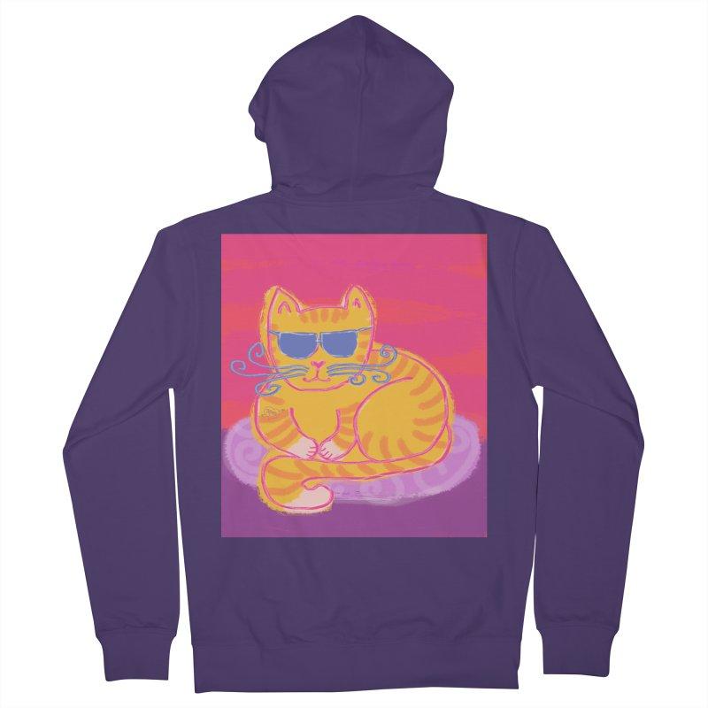 Tough cat loaf Women's Zip-Up Hoody by tiikae's Shop