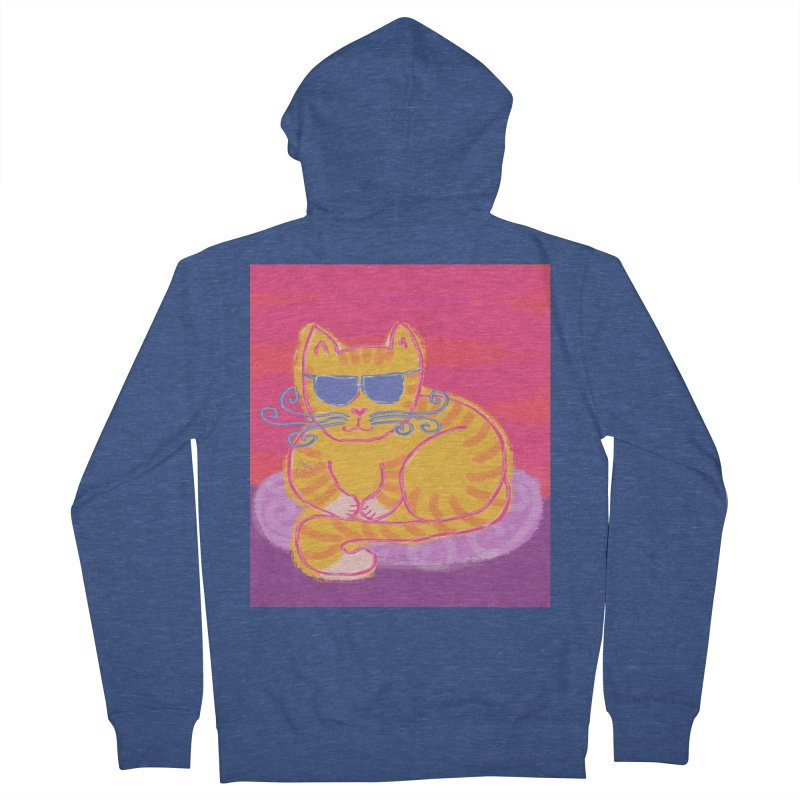 Tough cat loaf Men's Zip-Up Hoody by tiikae's Shop