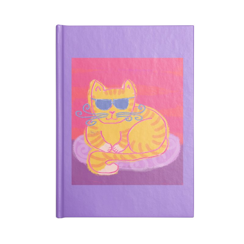 Tough cat loaf Accessories Notebook by tiikae's Shop