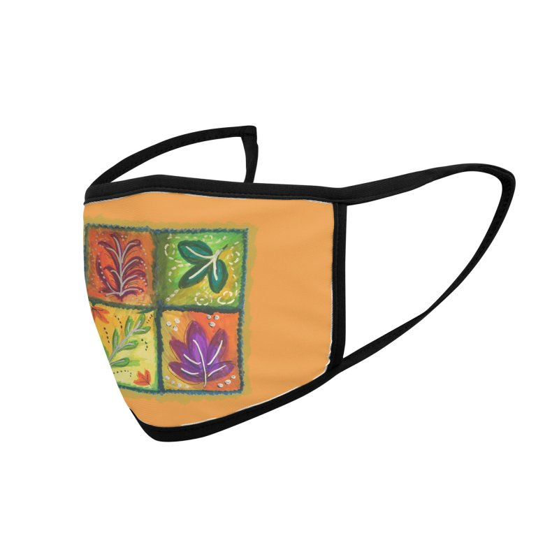 Leaves Accessories Face Mask by tiikae's Shop