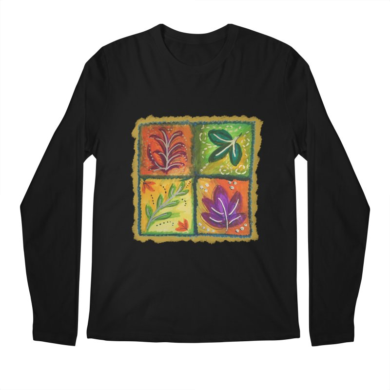 Leaves Men's Longsleeve T-Shirt by tiikae's Shop