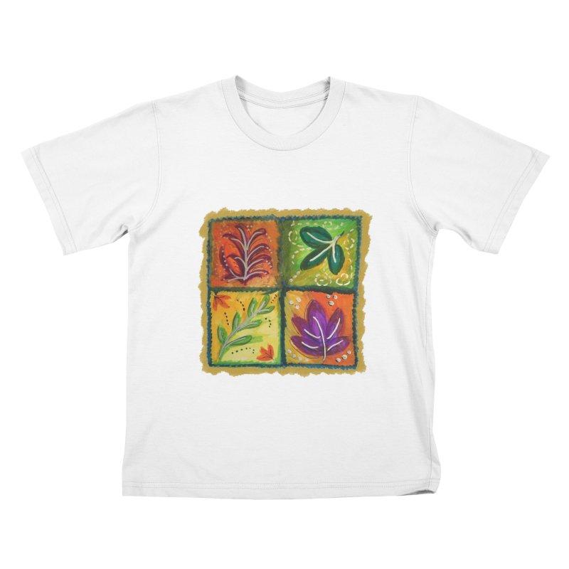 Leaves Kids T-Shirt by tiikae's Shop