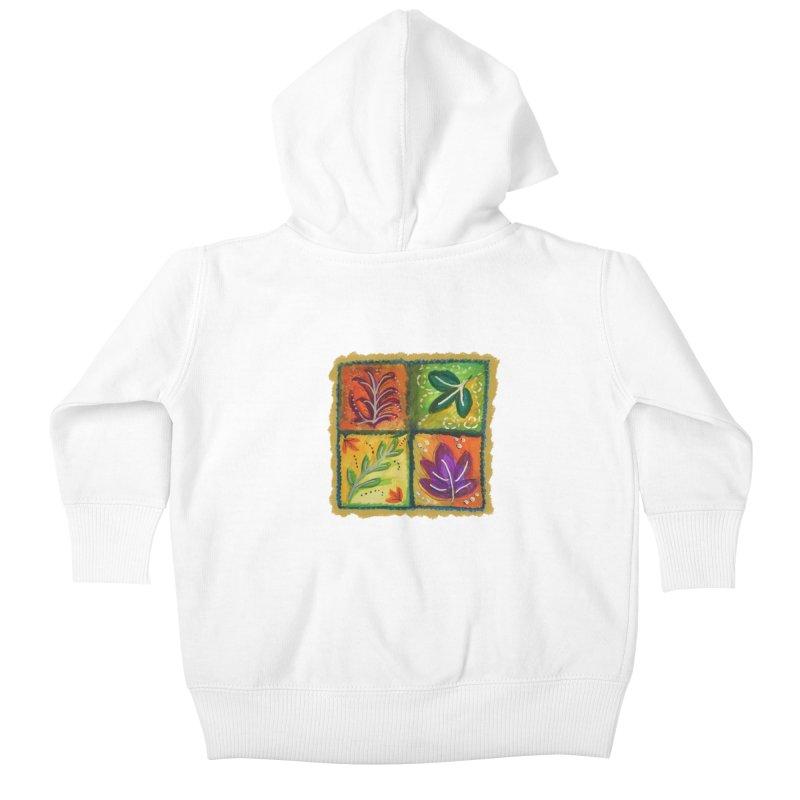 Leaves Kids Baby Zip-Up Hoody by tiikae's Shop