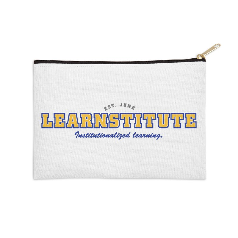 Learnstitute Accessories Zip Pouch by Tiki Bar TV's Shop