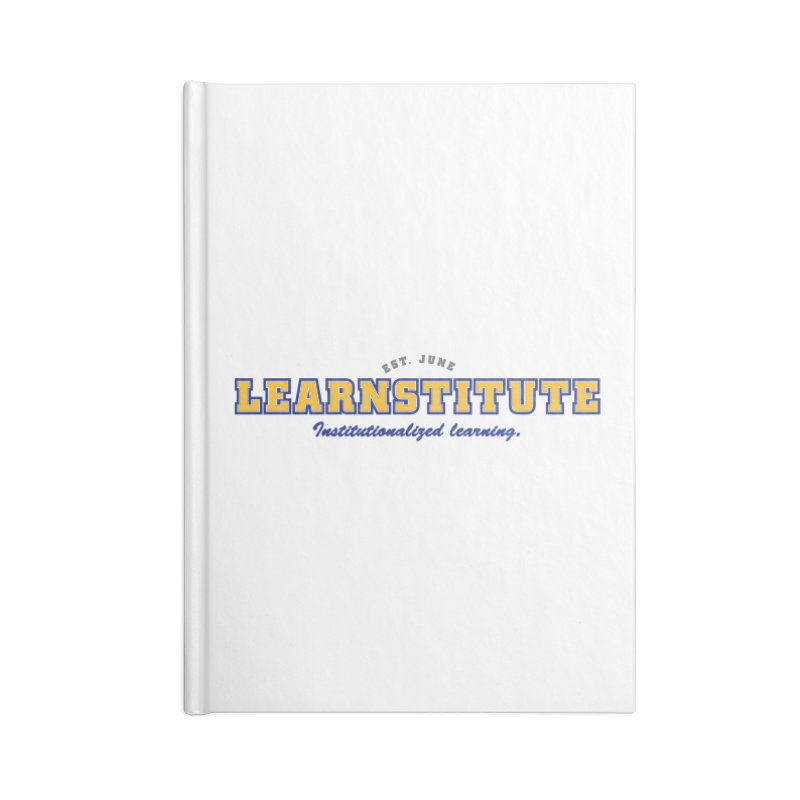 Learnstitute Accessories Lined Journal Notebook by Tiki Bar TV's Shop