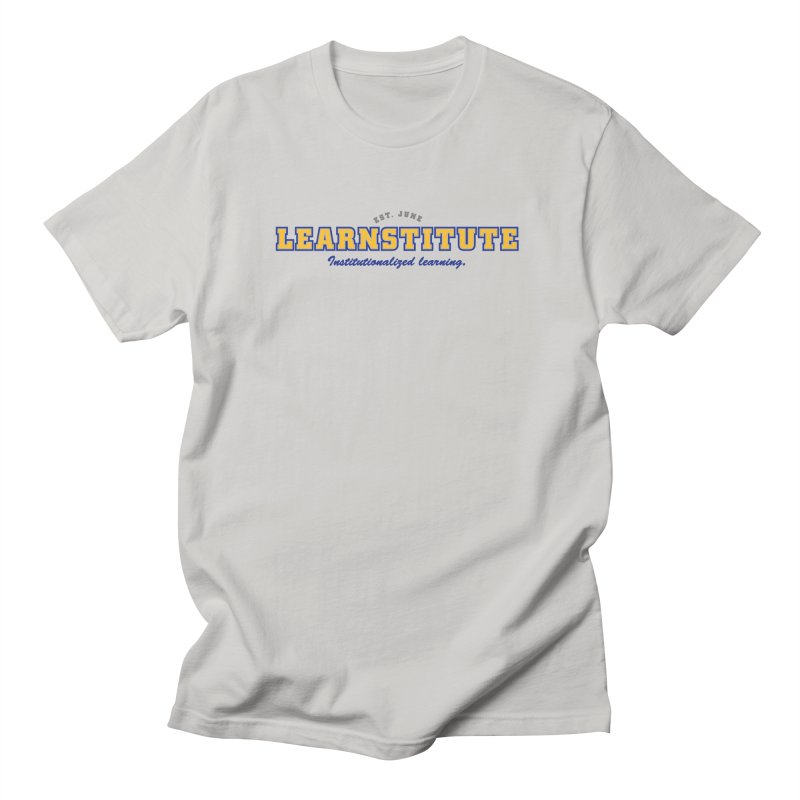 Learnstitute Men's T-Shirt by Tiki Bar TV's Shop