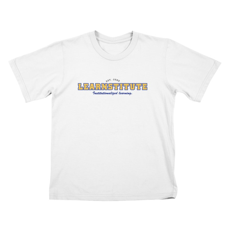 Learnstitute Kids T-Shirt by Tiki Bar TV's Shop