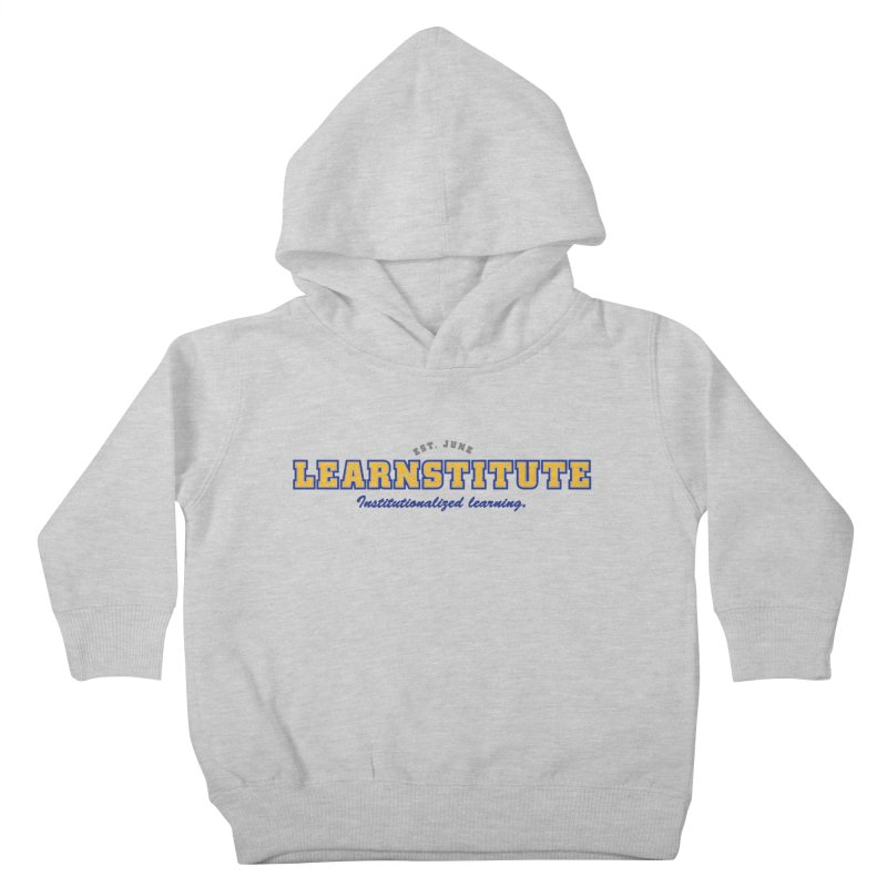 Learnstitute Kids Toddler Pullover Hoody by Tiki Bar TV's Shop