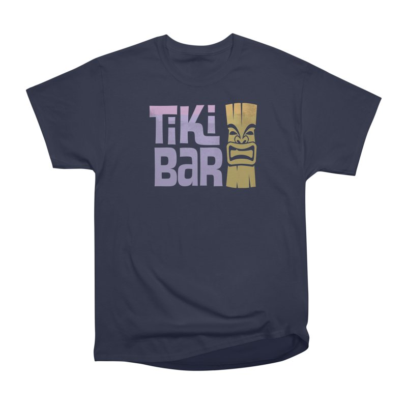 Tiki Bar TV Logo Women's Heavyweight Unisex T-Shirt by Tiki Bar TV's Shop