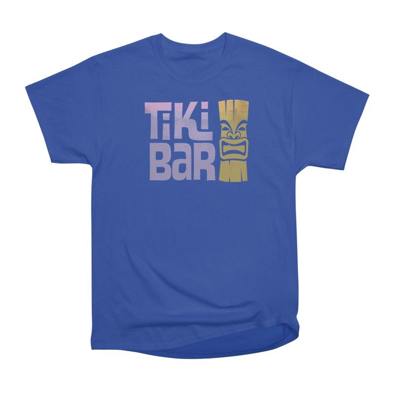 Tiki Bar TV Logo Men's Heavyweight T-Shirt by Tiki Bar TV's Shop