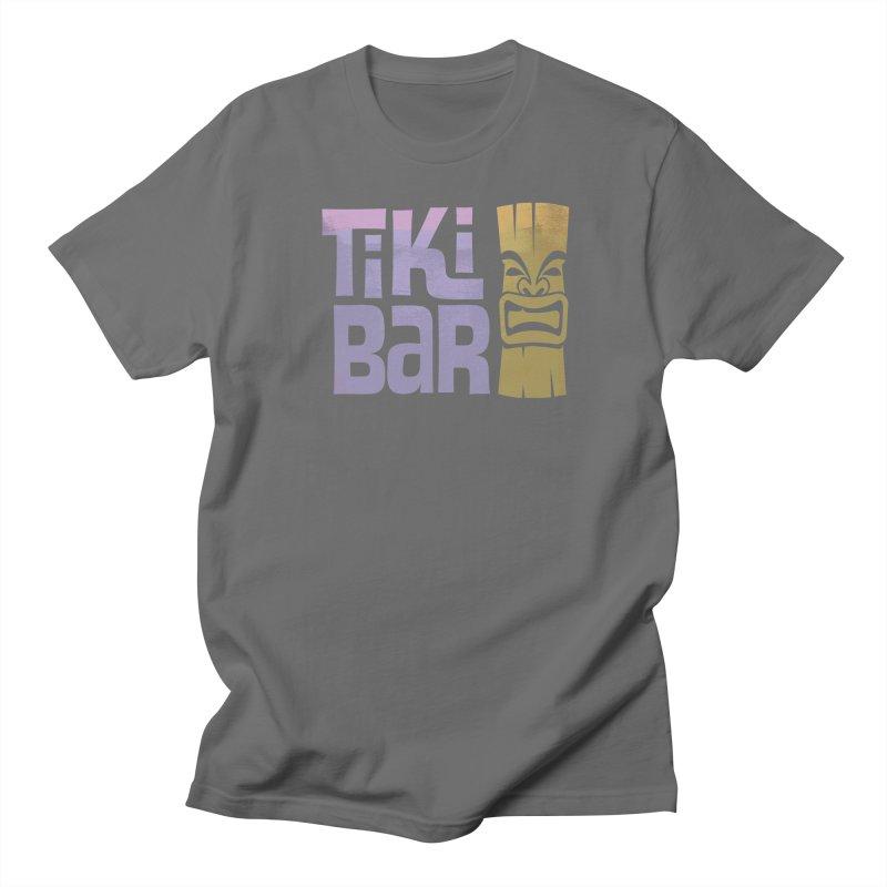 Tiki Bar TV Logo Men's Regular T-Shirt by Tiki Bar TV's Shop
