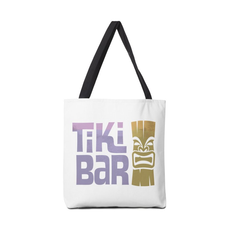 Tiki Bar TV Logo Accessories Bag by Tiki Bar TV's Shop