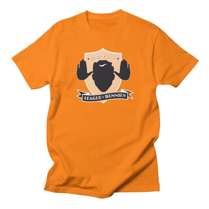 Royal League of Bunnies Men's Regular T-Shirt by Tiki Bar TV's Shop