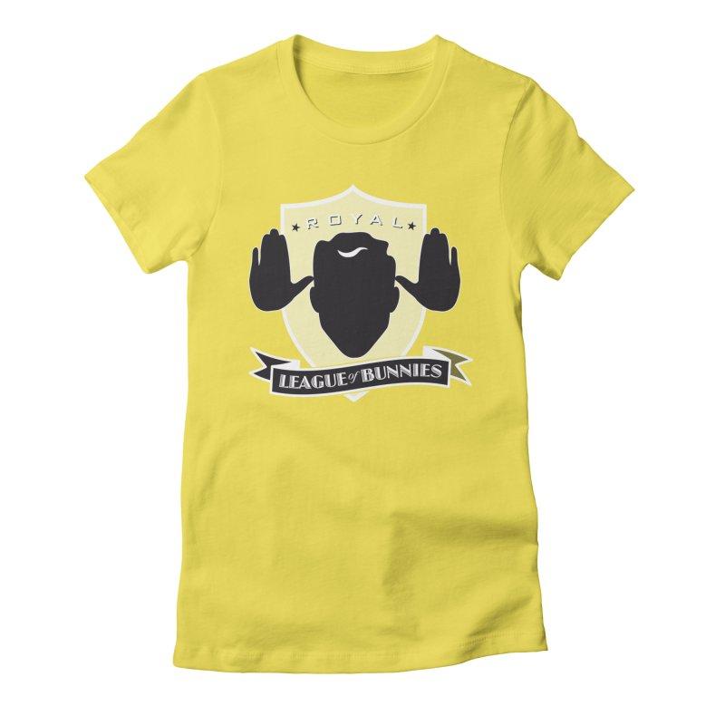 Royal League of Bunnies Women's T-Shirt by Tiki Bar TV's Shop