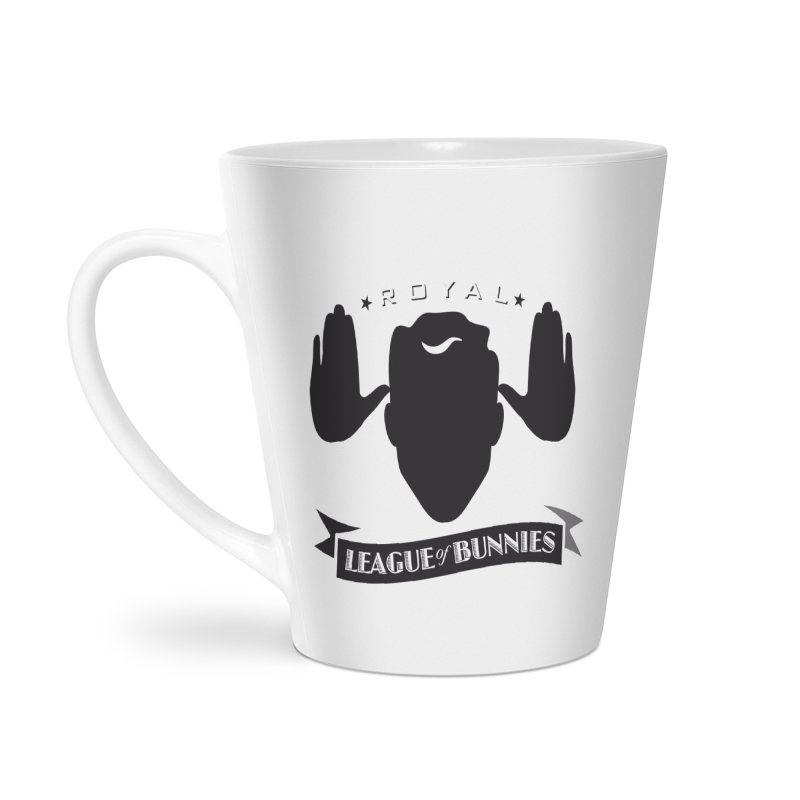 Royal League of Bunnies Accessories Latte Mug by Tiki Bar TV's Shop
