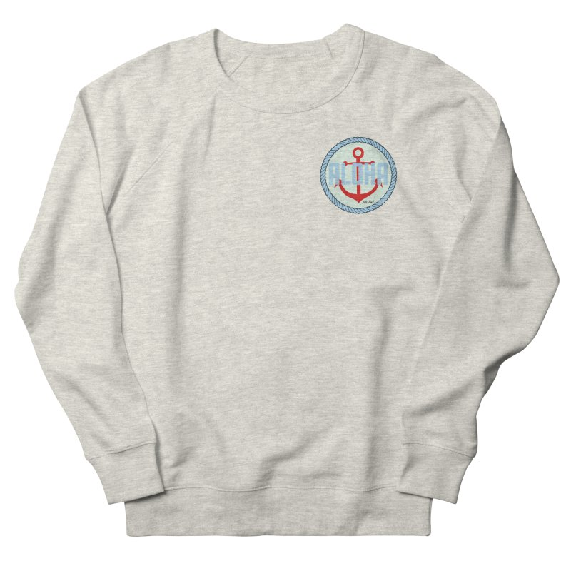 HELLO/GOODBYE Men's French Terry Sweatshirt by Tiki Del