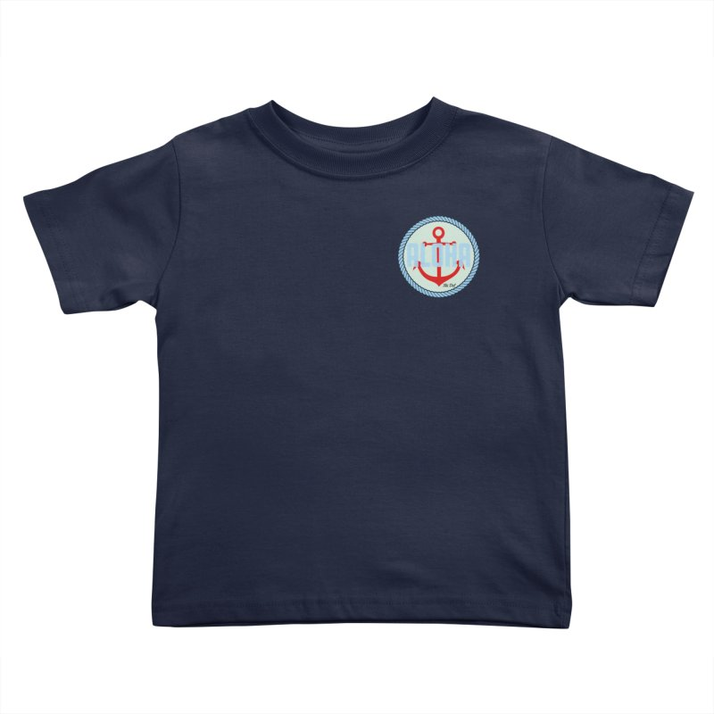 HELLO/GOODBYE Kids Toddler T-Shirt by Tiki Del