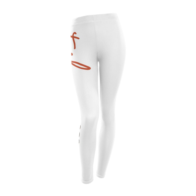 Tikun Yoga Products (on White & Gray) Women's Leggings Bottoms by tikunyoga's Artist Shop