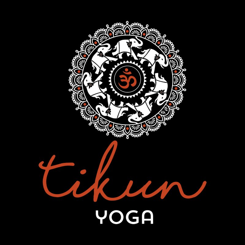 Tikun Yoga Products (on black) by tikunyoga's Artist Shop