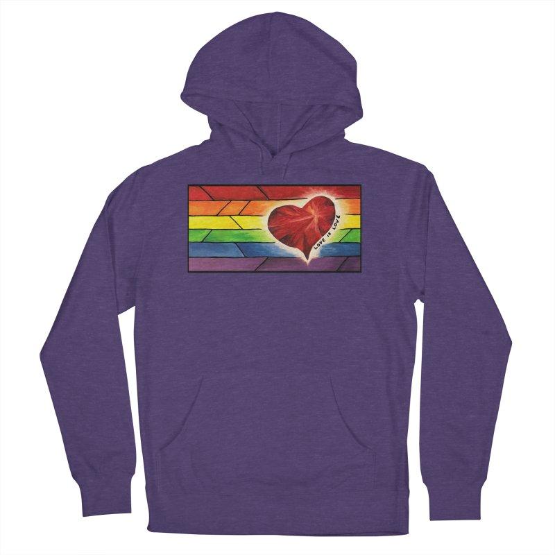 Love is Love Women's Pullover Hoody by Tilted Windmill's Artist Shop