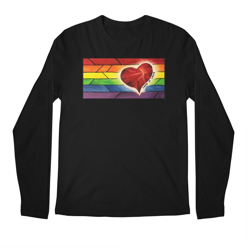 Love is Love Men's Longsleeve T-Shirt by Tilted Windmill's Artist Shop