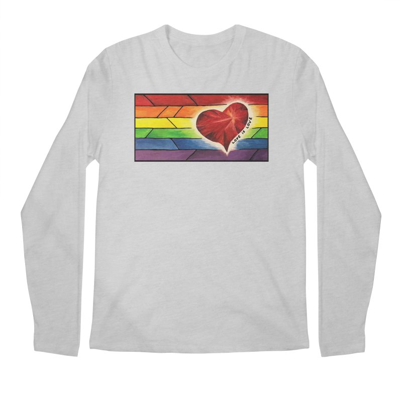 Love is Love Men's Longsleeve T-Shirt by Tilted Windmill's Artist Shop