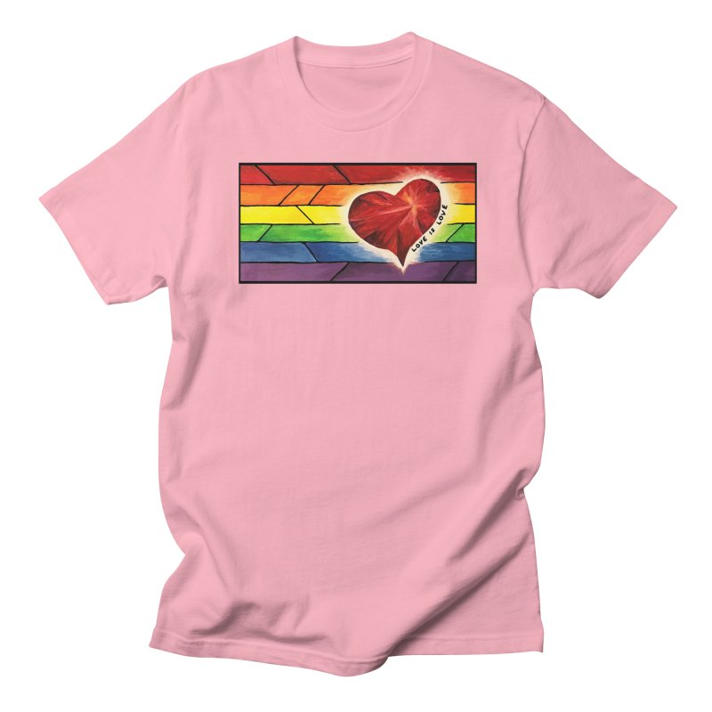Love is Love Men's T-Shirt by Tilted Windmill's Artist Shop