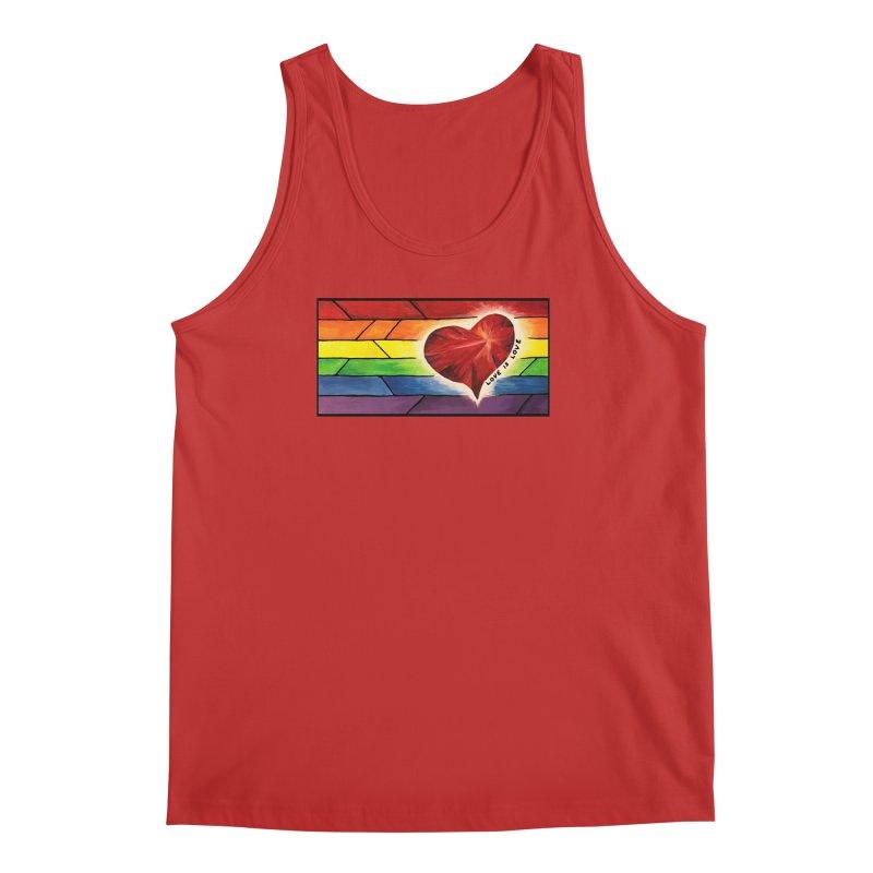 Love is Love Men's Tank by Tilted Windmill's Artist Shop