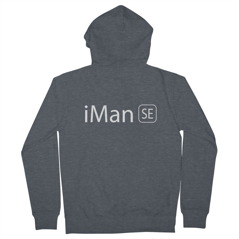 iMan SE Men's French Terry Zip-Up Hoody by Tilted Windmill's Artist Shop