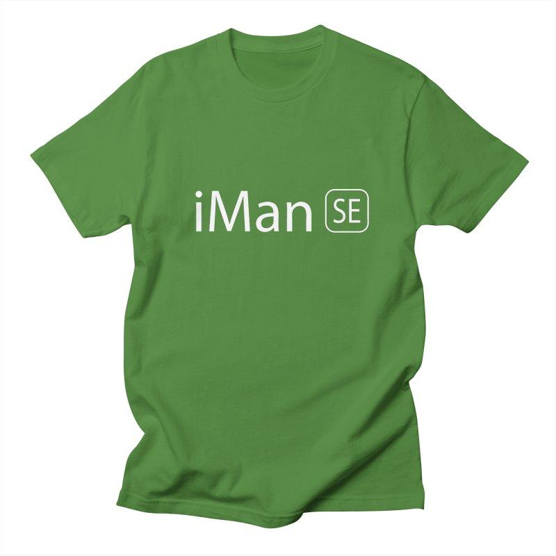 iMan SE Men's Regular T-Shirt by Tilted Windmill's Artist Shop