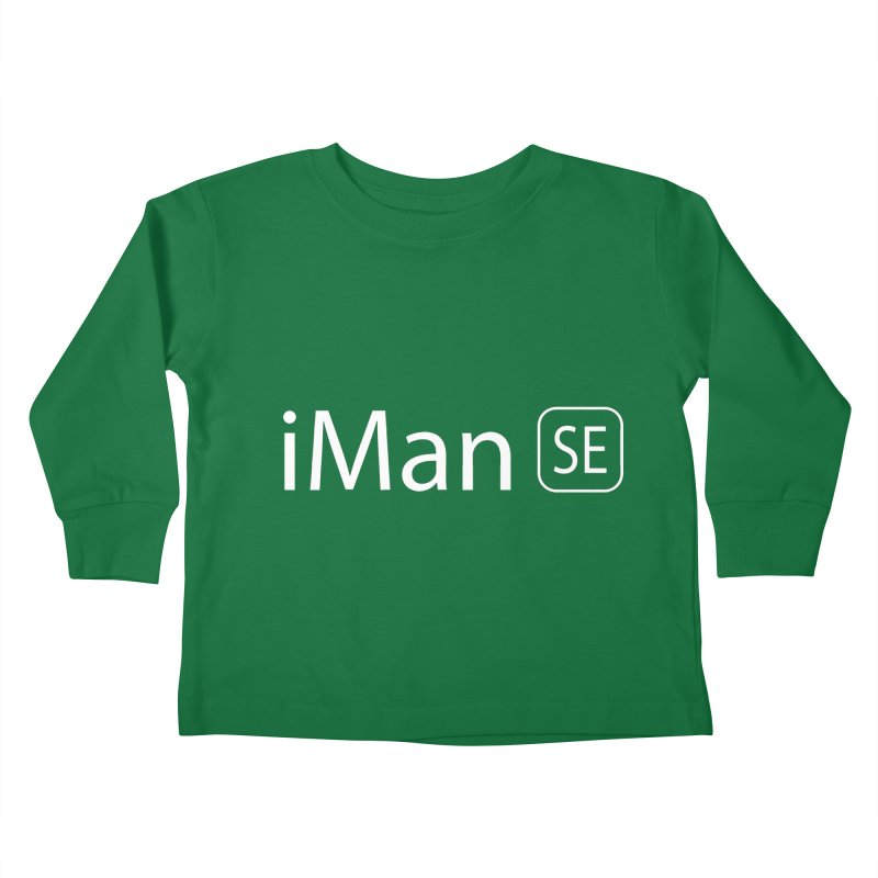 iMan SE Kids Toddler Longsleeve T-Shirt by Tilted Windmill's Artist Shop