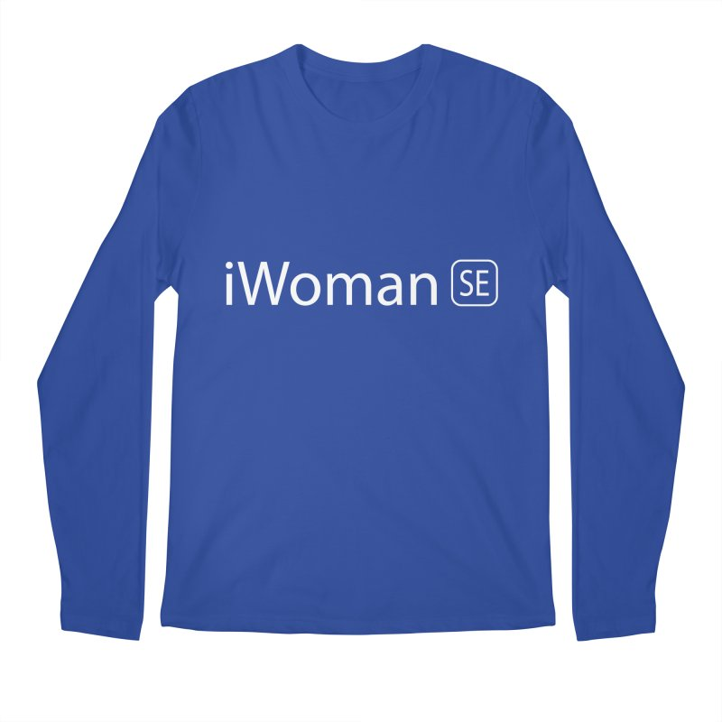 iWoman SE Men's Longsleeve T-Shirt by Tilted Windmill's Artist Shop