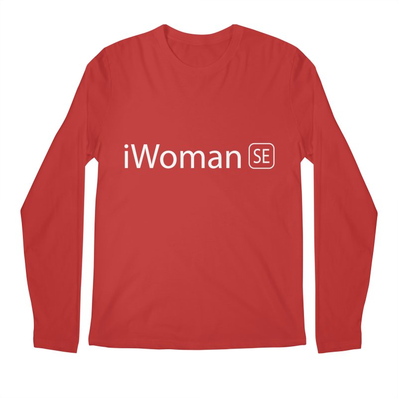 iWoman SE Men's Regular Longsleeve T-Shirt by Tilted Windmill's Artist Shop