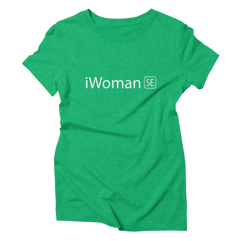 iWoman SE Women's Triblend T-shirt by Tilted Windmill's Artist Shop