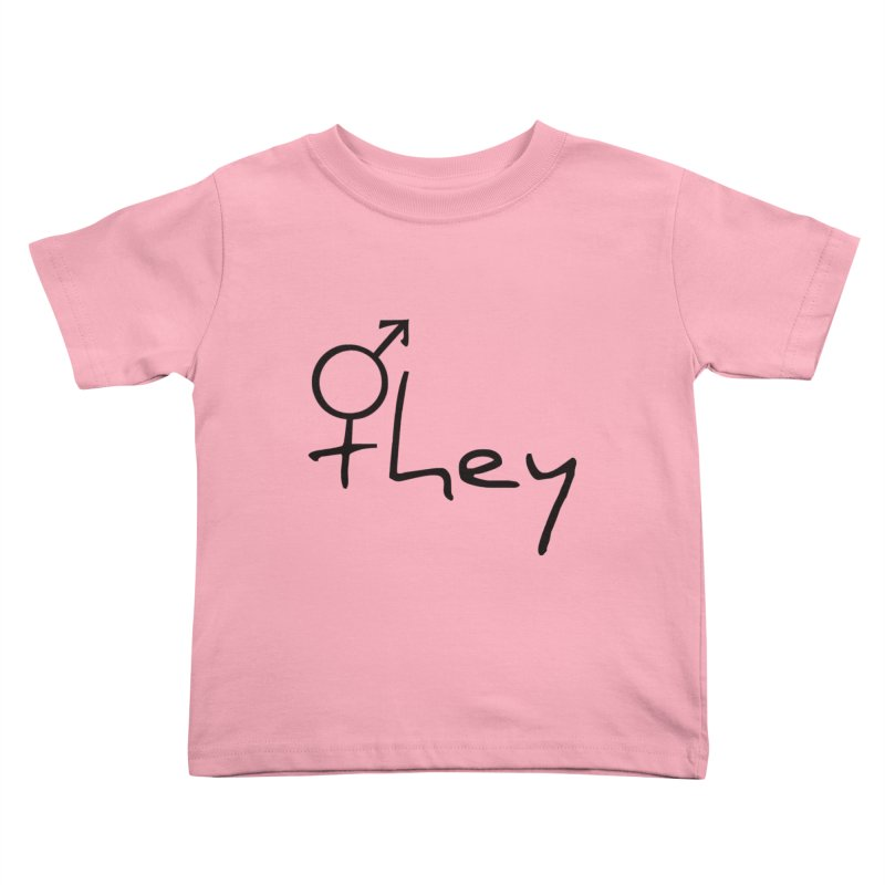 they Kids Toddler T-Shirt by Tilted Windmill's Artist Shop